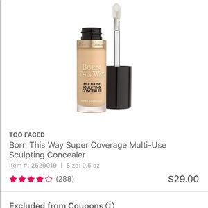 Too faced sculpting concealer
